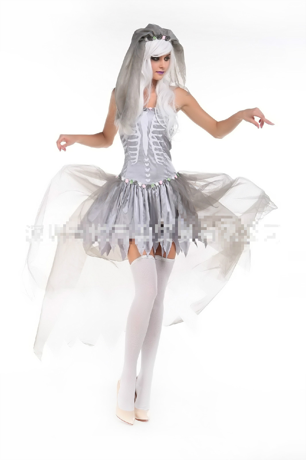 Online Get Cheap Girl Zombie Bride Costume -Aliexpress.com ...