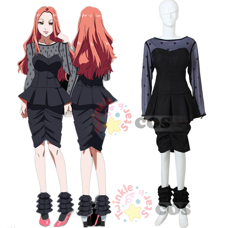 все цены на Hot Anime Tokyo ghoul cosplay costume fancy Halloween costumes for adult women sexy bar dress Itori cosplay costume Tokyo Ghoul