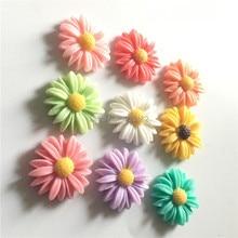 ФОТО free shipping (9pcs/set) fresh daisy flower refrigerator magnets cute message magnet sticker home/wedding decoration kids toy
