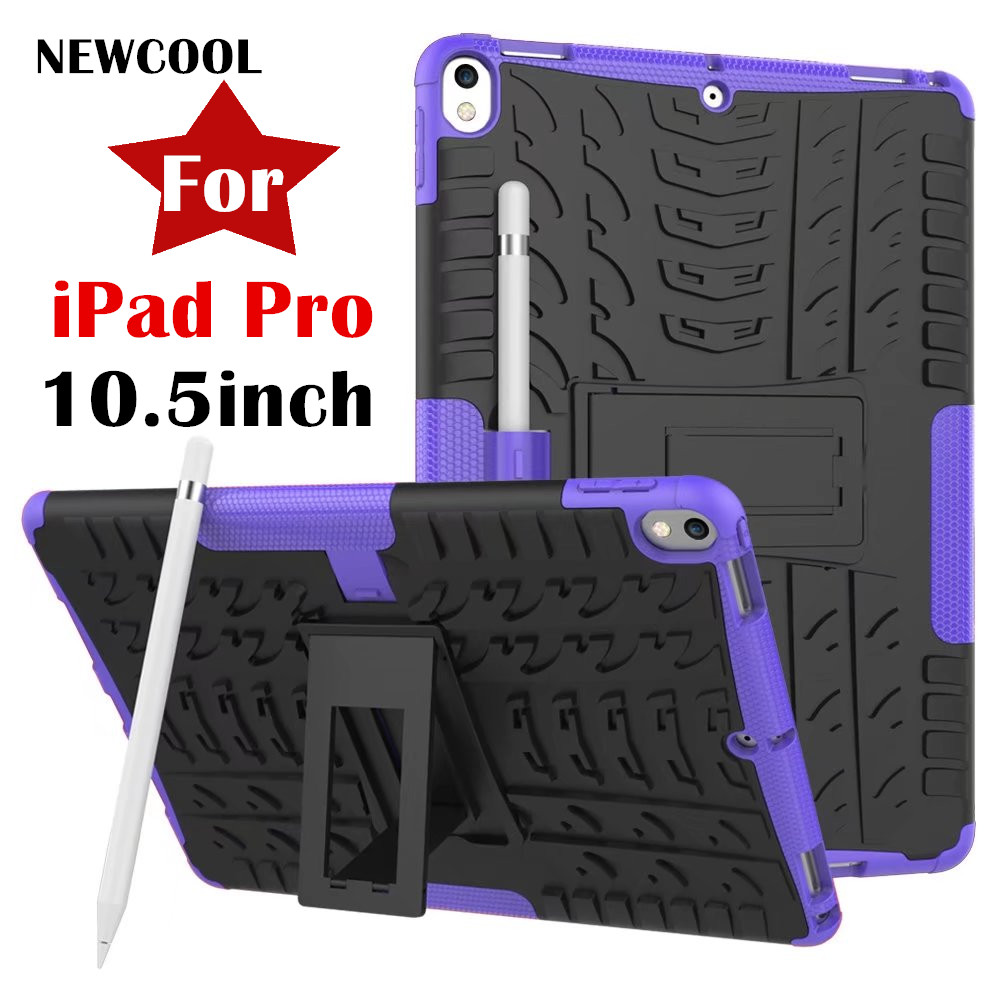 NEWCOOL Amor Back Cover for Apple NEW iPad Pro 10.5 10.5inch Tablet Case Colo Grain TPU+PC Heavy Duty Case Hybrid Rugged Rubber cacharel туалетная вода amor amor 1001 night 100 ml