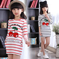 Tshirt Kids Clothes Striped Spring Girl T Shirt For 5 6 7 8 9 10 11 12 Years Long Sleeve O-neck Fashion Teenagers Girls Clothes