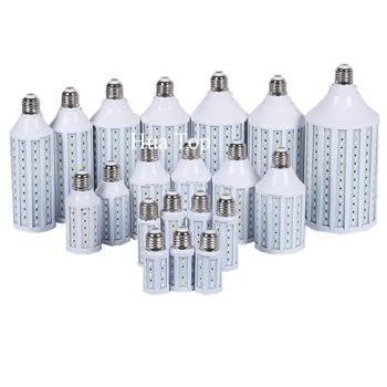 цена на Led lamp 5730 SMD 7W 15W 25W 30W 40W 50W 80W 100W E27 E40 E26 B22 110V 220V Corn Bulb Pendant Lighting Chandelier Ceiling Light