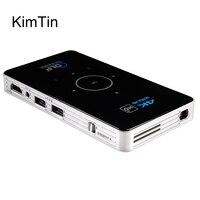 C6 видео мини-проектор OS 5,1 Amlogic S905 4 ядра 5 г Wifi Smart DLP Proyector Встроенная память 16 г 4 К HD BT4.0 Портативный ТВ BOX W/Батарея