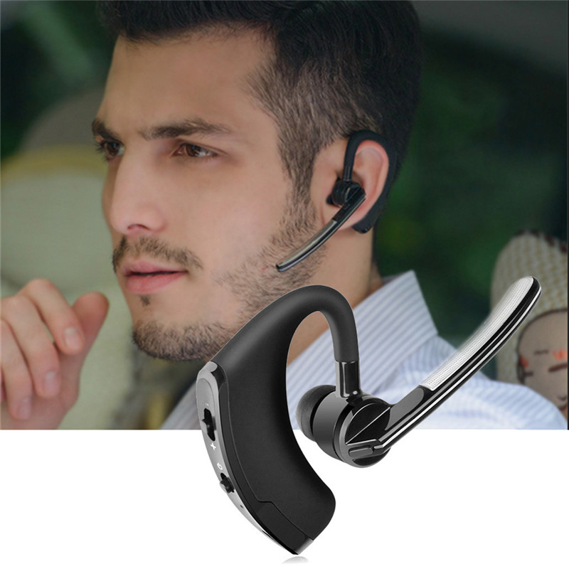 Bluetooth 4.0 HandsFree Car Wireless Earphone Earbuds High Sound Quality 3D Stereo Ear Hook Earphone Suitbale For Driving image