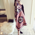 New Designer Scarf 195*62cm cashmere scarf Winter Flowers Women Scarves Blanket Long shawls Scarf 9