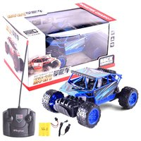 Mini Remote Control 4 Wheels Toy Car Anti slip Children Gifts Cross Country Simulation 1:16 Charging Scale Race Truck Car Toy