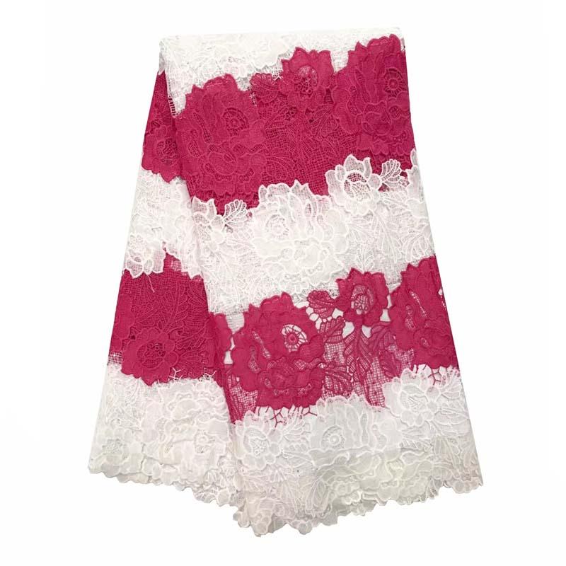 Африканский Шнурок Ткани Красочные Красивые Индийские Ткани Для Женщин Одеваться Французский Кружевной Ткани Горячей Продажи AN-911