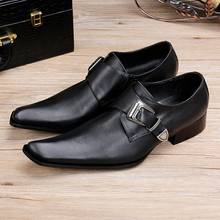 Zapatos Hombre Italian Shoes Men Leather Alligator Shoes For Men Pointed Toe Black Genuine Leather Dress Wedding Shoes Flats