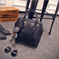 AMELIE GALANTI 2016 Europe And The United States Fashion Bags Retro Suture Shell Bag Trend Bag