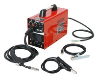 IGBT Gas/No Gas MIG155 Mig Welder 220V Flux Core Wire Steel Welding Machine Portable DC 2 in 1 Mig Welding MMA Welding
