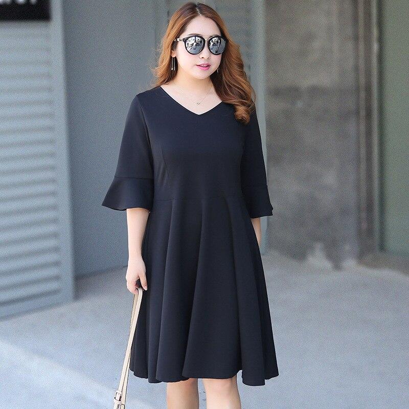 030ac10a8 Tamanho grande vestidos de moda capaz falante vestidos na altura do joelho  vestidos de 422 em Vestidos de Roupas das mulheres no AliExpress.com