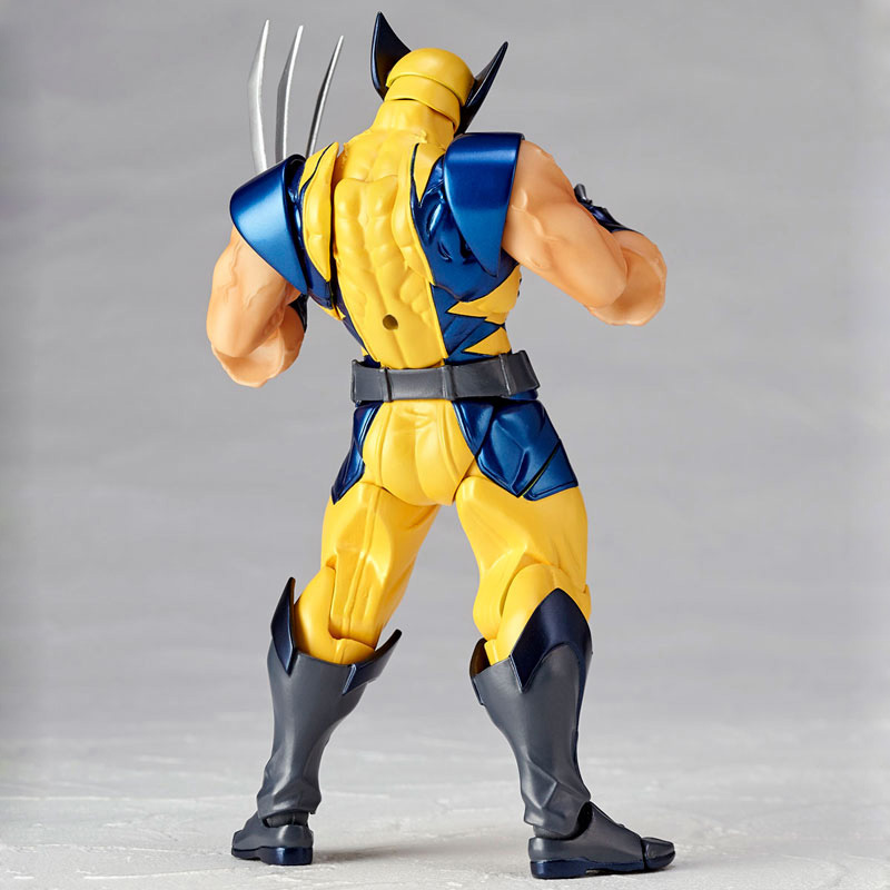 Revoltech Amazing Red Venom Carnage Amazing Captain America Spiderman Magneto Wolverine X-men Action Figures Toy Doll (26)
