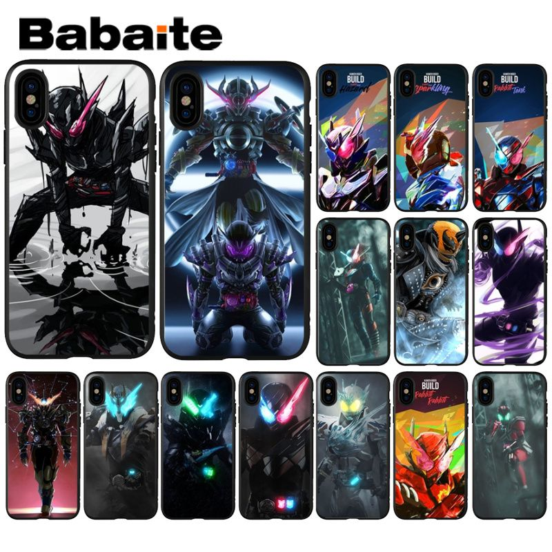 Babaite Kamen Rider Build Luxury Unique Design Phone Cover For Apple IPhone 8 7 6 6S Plus X XS MAX 5 5S SE XR Mobile Cover