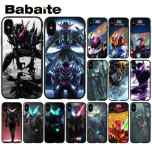 Babaite kamen rider build Luxury Unique Design Phone Cover for Apple iPhone 8 7 6 6S Plus X XS MAX 5 5S SE XR Mobile Cover(China)