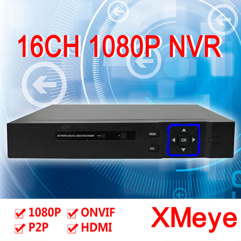 ФОТО Hisiclion Chip Blue-Ray Exterior 4*5M/16*1080P/9*1080P/16*960P Two SATA Port HD 1080P Onvif NVR 16ch Free Shipping To Russia