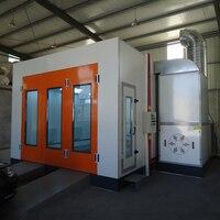 Высококачественный покрасочный бокс для авто гибочная стальная дверь с турбовентиляторы Горячая продажа
