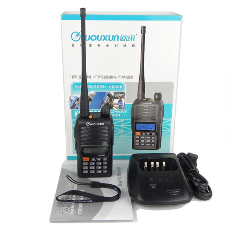 10pcs Portable Radio Walkie Talkie UHF 400 470MHz WOUXUN KG 679 IP55 Waterproof DTMF ANI VOX Alarm FM Two Way Radio transceiver
