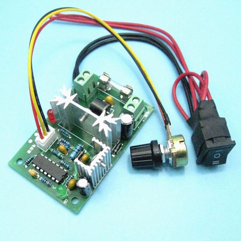 10 60 V 35A DC Motor Drehzahlregler PWM Spannungsregler Schalter PCBA
