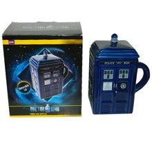 Original Doctor Who Tardis Kreative Police Box Becher Lustige Keramikkaffee-teeschale Für weihnachtsgeschenk