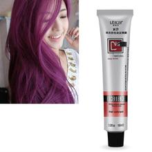 Unisex Hair Professional Long Lasing Salon Dye Cream Permanent 100ml Hair Color Bright(China)