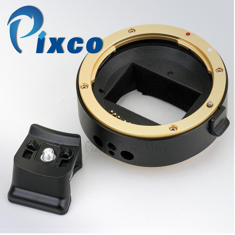 Pixco 3th Generation Electronic Full-Frame Auto Focus AF Confirm Adapter Suit For Canon EF MountLens To Sony E Mount NEX Camera