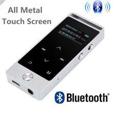 La más nueva Versión Original de la Pantalla Táctil Reproductor de MP3 8 GB BENJIE S5/S5B Lossless de nivel de Entrada de Alta Calidad MP3 Reproductor de música con FM
