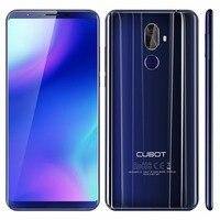 Cubot X18 плюс 4 г смартфон 5.99 FHD 1920*1080 P 4 ГБ Оперативная память + 64 ГБ Встроенная память MTK6750T Восьмиядерный 16MP 3 камеры Android 8.0 мобильный телефон