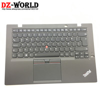 IS New/Orig for Thinkpad X1 Carbon 3rd 20BS 20BT Icelandic Backlit Keyboard with Palmrest Touchpad 00HT316 00HN961 SM20G18621