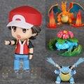 Anime Pokemon Trainer Vermelho: Campeão Ver. 20th Anniversary Figura PVC