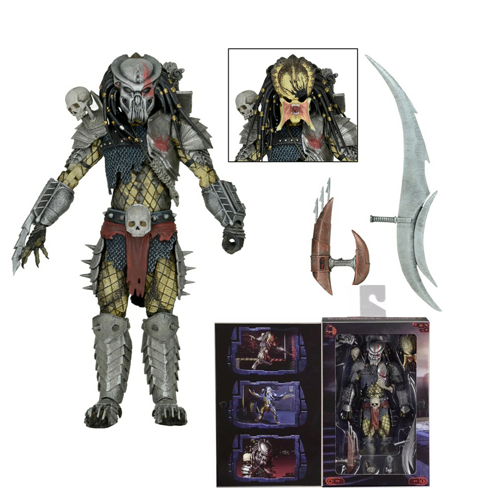 NECA Movie AVP Aliens vs Predator Series Concrete Jungle PVC Action Figure Collectable Model Toy Doll Gift predator action figure master wolf predator anime movie predator vs alien collectible model toy pvc 200mm