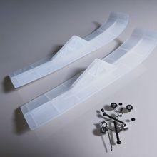 Белый нейлон DIY RC лыжный Набор для. 40 или. 60 размер или больше R/C Самолет