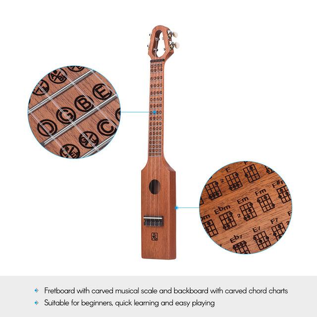 Unique Compact Concert Ukulele