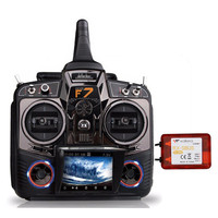 Walkera Devo F7 7 Channel Transmitter Remote Controller Control With 2 4G RX SBUS 12CH Receiver