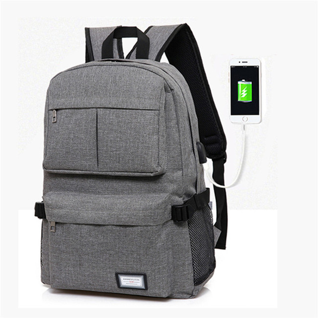 Aliexpress.com : Buy USB Charge Unisex Backpack