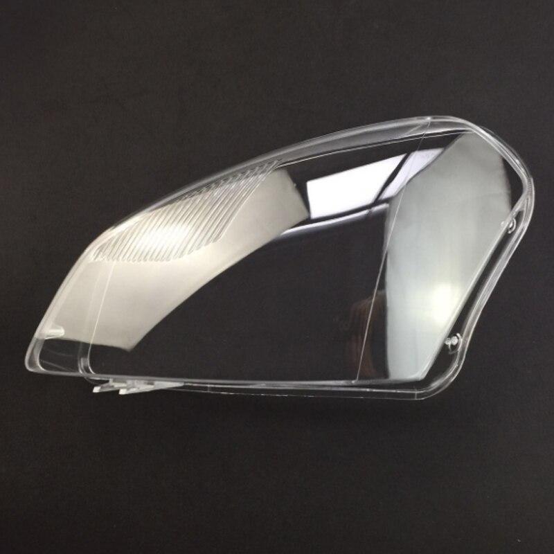Pour Nissan Hacker phares avant phares verre masque lampe couverture coquille transparente lampe masques 2 pièces 2009-2015