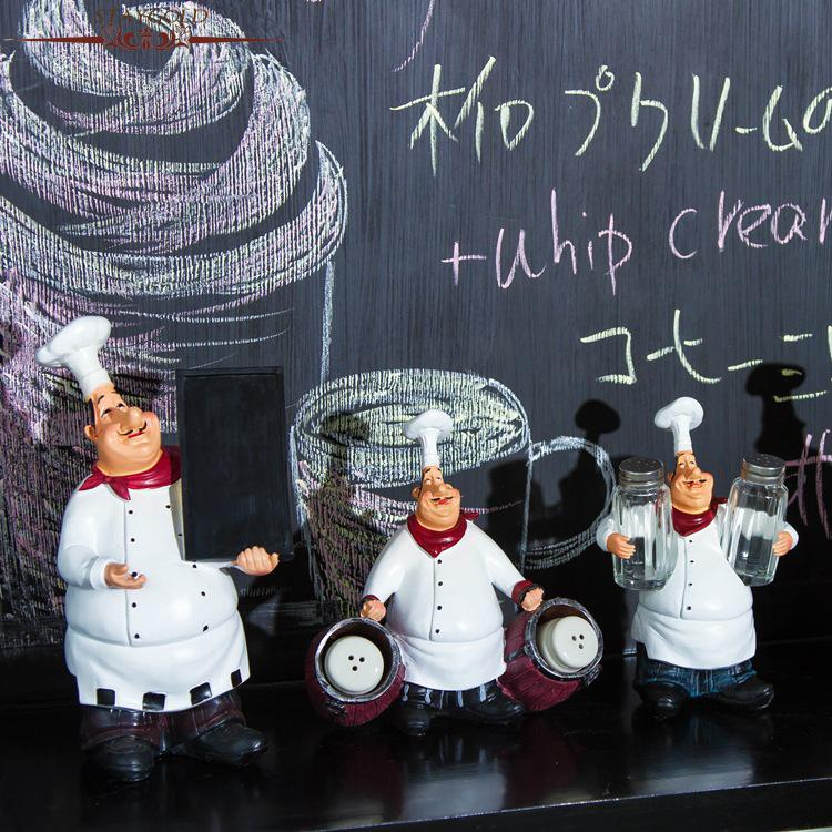 Zakka Küchenaccessoires Küchenchef Home Restaurant Bar Cafe - Wohnkultur - Foto 3