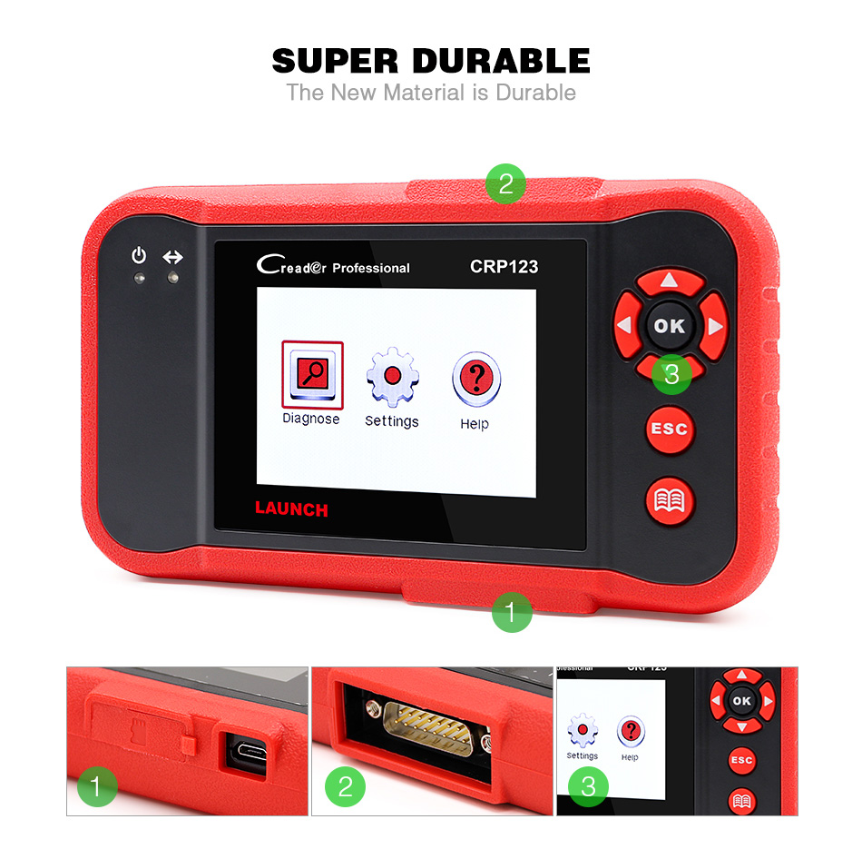 launch x431 obd2 code reader scanner creader crp123 (2)