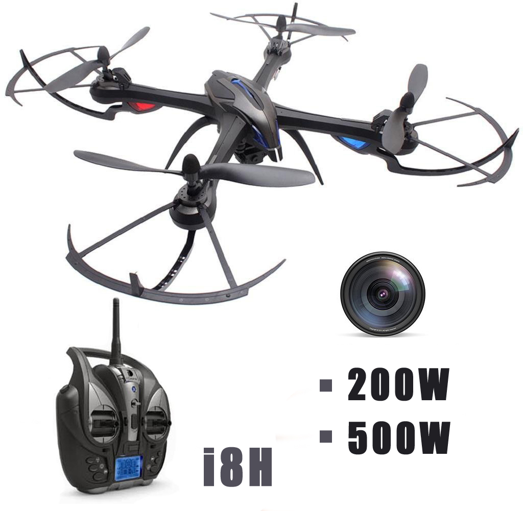 купить EBOYU(TM) Yizhan iDrone i8h 2.4G 4CH 6-axis Gyro 2MP / 5MP Camera Drone Altitude Hold RC Quadcopter Drone RTF по цене 6306.09 рублей