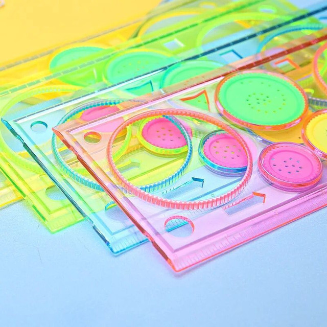 Spirograph Drawing toys set Interlocking Gears & Wheels Accessories Creative Educational Toy For Kids
