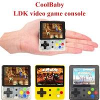 CoolBaby LDK game 2.6inch Screen Mini Handheld Game Console Nostalgic Children Retro game Mini Family TV Video Consoles