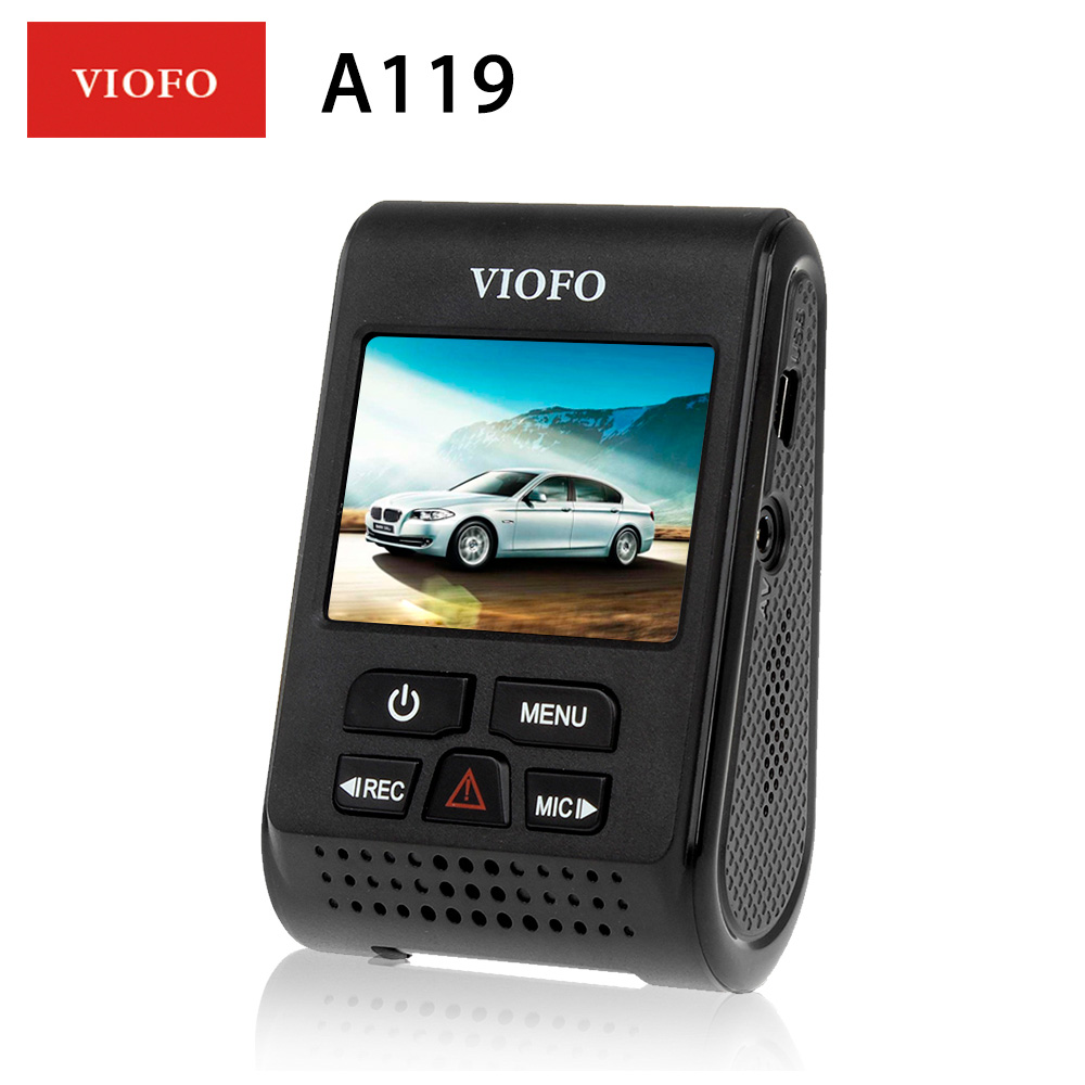 VIOFO A119 Car DVRS Dash Cam 2.0 LCD Capacitor Novatek 96660 HD 2K 1440P Car Dash video recorder DVR Option GPS CPL Filter DVR dual dash camera car dvr with gps car dvrs car camera dvr video recorder dash cam dashboard full hd 720p portable recorder dvrs