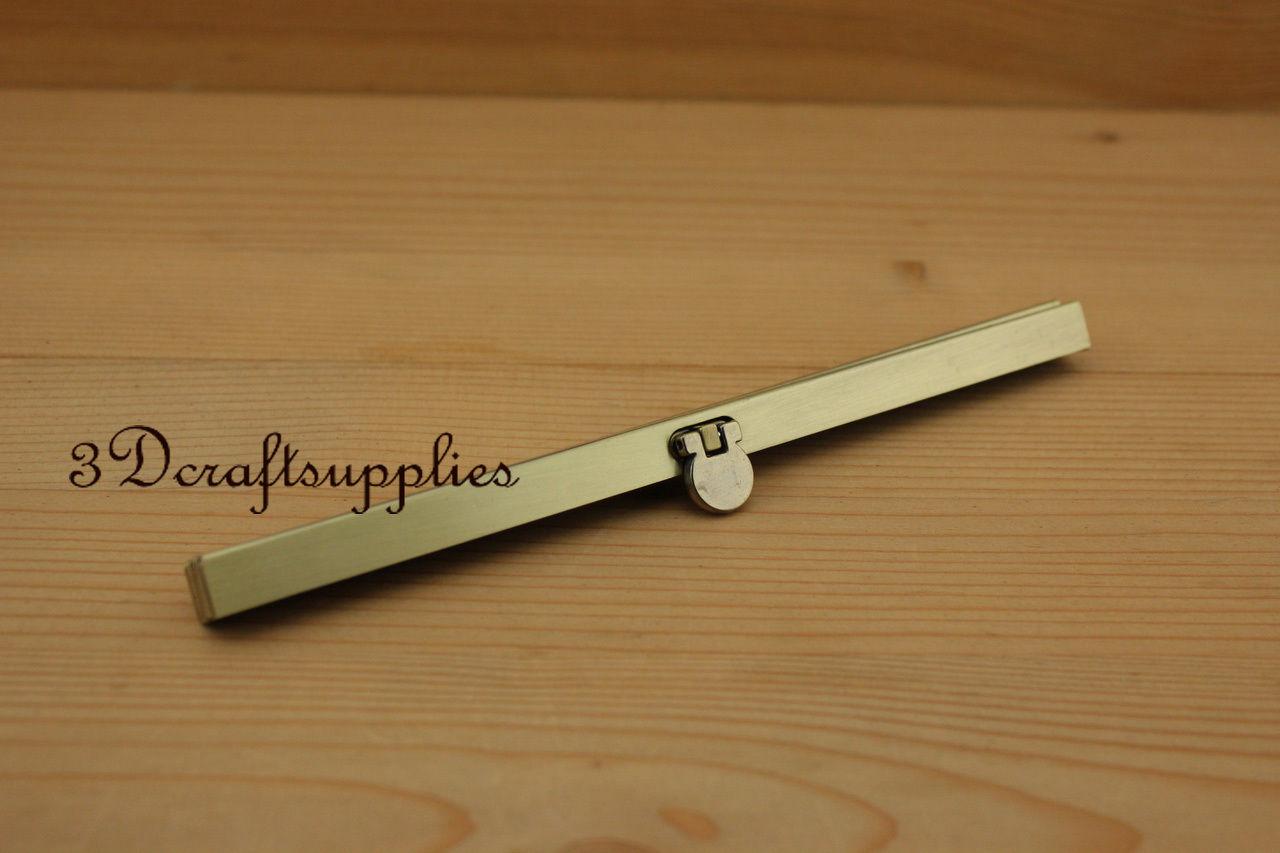 7 1/2 inch ( 19 cm ) anti bronze wallet purse frame wallet frame P134
