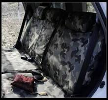 Camouflage car seat covers For feiteng flag jungle full set VR6 multivan Golf GTI CC Mini One benz GLK300 C200L GLK260 C180L