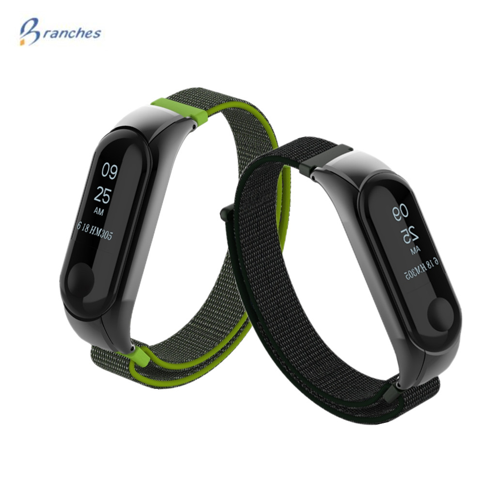 все цены на Mi Band 3 Strap for mi band 3 bracelet Silicone nylon Wristband Smart Band Accessories wrist Strap and for Xiaomi Mi Band3 онлайн