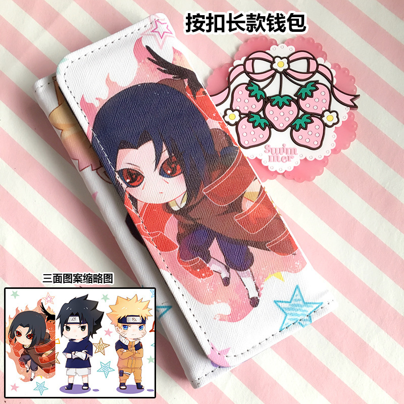 Cute Natsume Yuujinchou Long Clutch PU Leather Card Holder Anime Purses Fashion