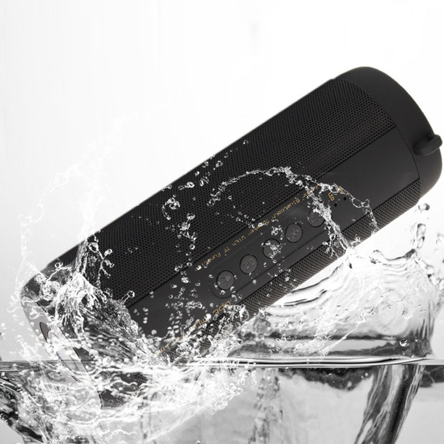 original T2 Bluetooth Speaker Waterproof IP67 Portable Outdoor Wireless Mini Column Box Loudspeakers Speakers for iPhone Samsung