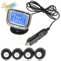 Sale InChange TPMS Mini LCD Digital Auto Car Tire Tyre Pressure Monitor Monitoring System Pressure Gauge