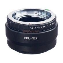 Voigtlander Retina deckel ДКЛ объектива до E Mount NEX переходное кольцо для NEX-7/5N/3/5/ 5R A7 A9 A7RII a6000 a6300 A6500 камеры