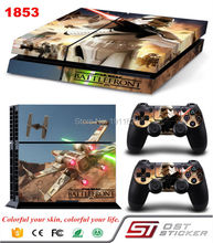 Wholesale Vinyl Stickers Star Wars Decal For Playstation 4 For Sony PS4 Console and Controller Protective Accessories Skin Cover