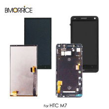 цена на LCD Display For HTC One M7 802D 802D 802W Super Touch Screen Digitizer Senor Glass Replacement Assembly with/no Frame Original